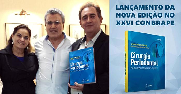 Co-Autores do Livro: Cirurgia Periodontal