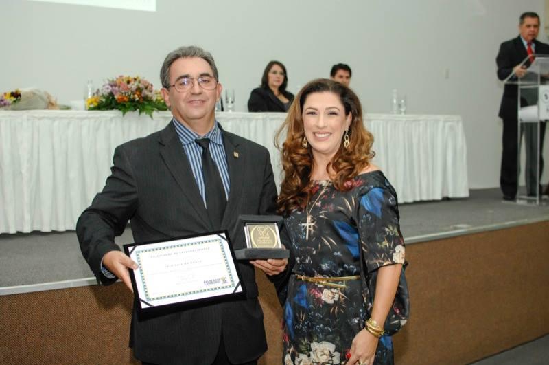 Dr José Luiz do Couto e a empresária Margot Rosenbrock Libório