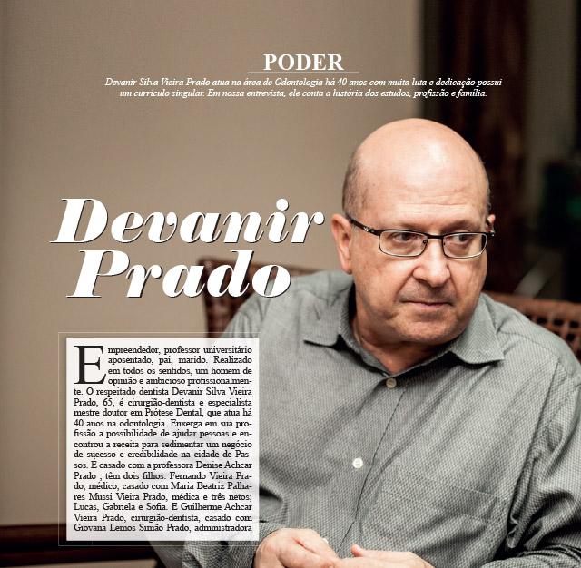 Entrevista com o Dr. Devanir Prado
